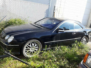2002 Mercedes-Benz CL-Class Coupe (2 door)