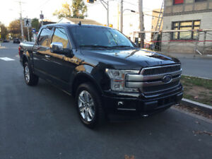 REDUCED TO SELL ASAP! 2018 FORD F150 PLATINUM! FULLY LOADED