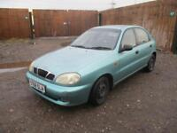 1998 Daewoo Lanos 1.6 SX Automatic Petrol 5 Door Hatchback Low Mileage Green