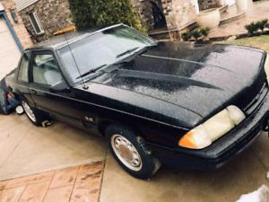 88 Mustang 5.0 l