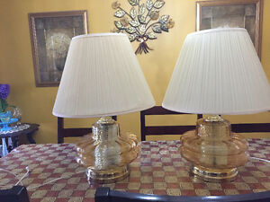 A PAIR OF GORGEOUS LAMPS