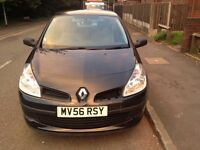 RENAULT CLIO EXPRESSION 1.2 2007 FULL MOTD STARTS AND RUNS EXCELLENT