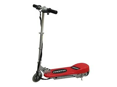 Patinete eléctrico Scooter 120W, plegable, color rojo