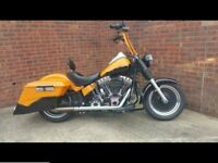 At Hurricane Harley Davidson 1584cc Bagger not Chop Chopper