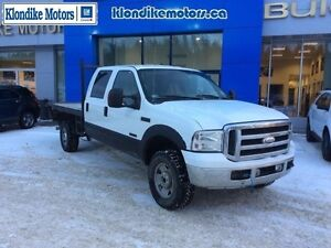2005 Ford F-350 Super Duty Diesel Crew Cab 4x4, 136,827 KMs