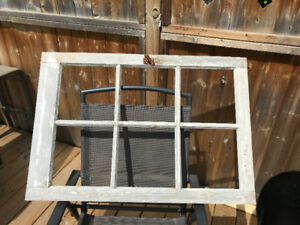 Rustic Barn Window (no glass)