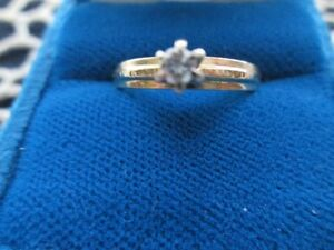 Ladies' 14kt Yellow Gold Solitaire Engagement Ring