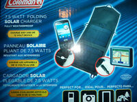 Solar charger for devices - $25