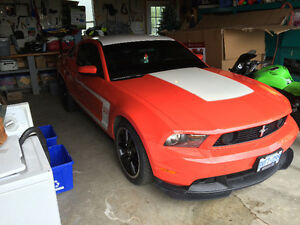 2012 Ford 302 boss mustang mint and rare