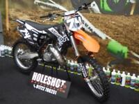 KTM SX 125 Motocross Bike clean example