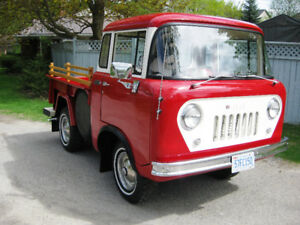 1957 JEEP WILLYS FC-150 4X4 CLASSIC COLLECTORS TRUCK, REDUCED