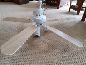 """42"""" Ceiling Fan With Reversible Blades"""