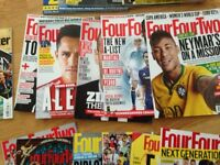 Four four two (football )magazines 18 football magazines