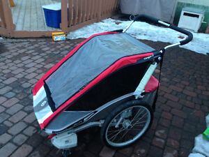 Chariot Courgar 2 Double wide stroller/bike carrier