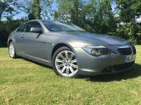 BMW 645 4.4 auto 2004 Ci GREAT SPEC X DEALER LAUNCH CAR ONLY 98K