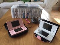 Nintendo DSi and DS Lite with games £85
