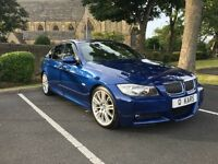 2007 (56) BMW 320d MSPORT/ 107K/ FSH/ BLACK LEATHER!