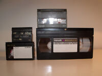 Convert your old family video tapes to DVD, any tape format