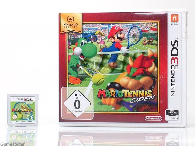 MARIO TENNIS OPEN o ~Nintendo 3 DS / XL / New 3Ds / 2Ds Spiel~_