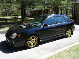 2002 Subaru WRX wagon (Wolf in sheep's clothing)