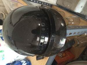 Men's Black Motorcycle Helmet