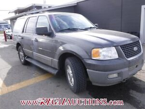 2003 FORD EXPEDITION XLT 4D UTILITY