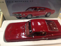 1:18 AUTOart Millennium 1968 Ford Mustang GT350, Red