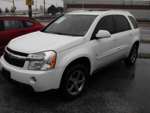 2007 CHEV EQUINOX LT  DVD  LOADED  NEW TIRES  SAFETIED  LOW KMS