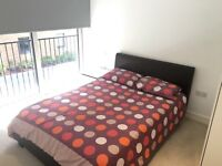 Double bed room in a brand new flat