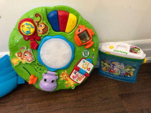 LeapFrog Letter Factory AND Activity Table