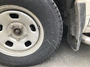 Bridgestone Blizzak Winter tires on Dodge Rims !!!  ** CHEAP**