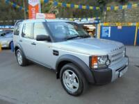 2005 05 LAND ROVER DISCOVERY 3 2.7 TDV6 S AUTO IN SILVER # JUST 86000 MLS FSH