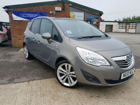 2010 Vauxhall Meriva 1.4 16v ( 120ps ) ( a/c ) SE FULL SERVICE PANORAMIC ROOF