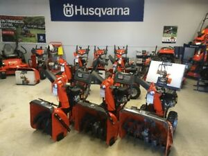 Husqvarna Snowblowers -Free Delivery -Great Deals -0% Financing