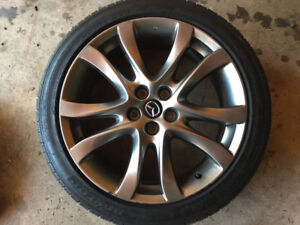 Mazda 6 gt 19 inch rims- NO TIRES