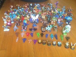 Lots of Skylanders with portals and games