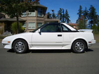 1988 Toyota MR2 Supercharged Coupe (2 door)