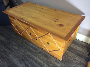 Handmade Pine Chest/Blanket Box/Coffee Table