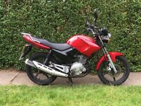 Yamaha YBR learner legal 125cc low mileage