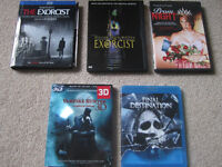 Horror Blu-rays and DVD's for sale or trade!!!