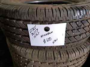4 new tires Michelin