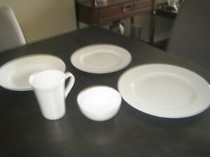 Mikasa Lucerne White Bone China