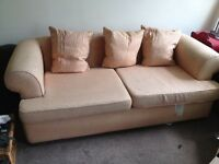 Vintage sofa requires reupholstery