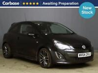 2014 VAUXHALL CORSA 1.4T Black Edition 3dr