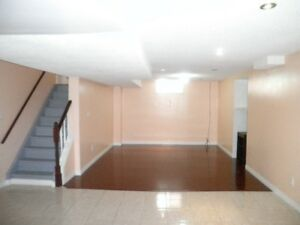 2 Bedroom Basement with 1. 1/2 washrooms and 1 car parking