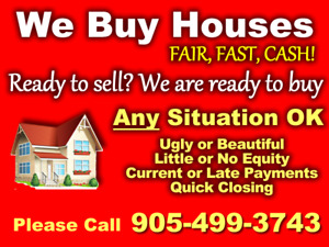 We Buy Oshawa Houses With The Best Price and Close Fast!