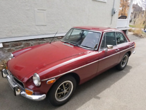 1974 MGB GT - sold pending pick up