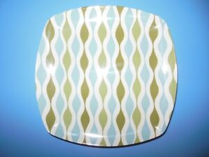 8 Melamine Plates (never used) only 1 year old