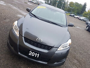 2011 Toyota Matrix Auto 1.8L Cheap on gas ,certified and emissio