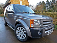 2007 LAND ROVER DISCOVERY 3 2.7 TDV6 AUTO XS. CAM-BELT REPLACED !!
